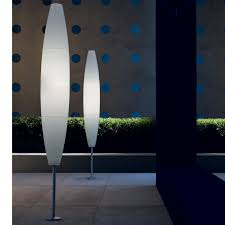 outside modern patio floor lamp