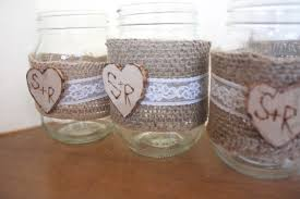 Decorated Jars For Weddings Rustic Mason Jar Decorations DMA Homes 100 31