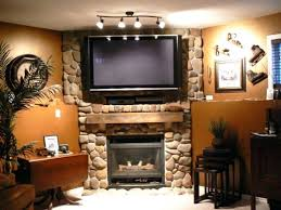 smlf corner wall mount fireplace flat screen can you a tv over gas stone above hide wires