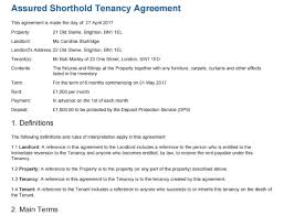 Free Tenancy Agreement Template To Edit, Sign, Download And Print ...