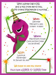 barney party invitation template best 25 barney birthday party ideas on pinterest barney party