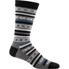 Darn Tough Vermont Sock Size Chart Darn Tough Brogue Crew Light Black