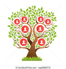 Family Tree Picture Template Big Family Tree Template With People Icons