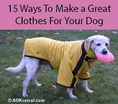how to make a dog coat