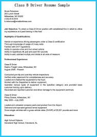 Cv For Driver Job Resumer Driving Job Sample Resumes Truck Jobs Objectives