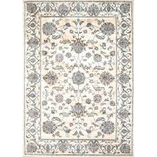 cotton area rugs oriental bone rug 5x7