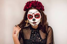make sure to post easy day of the dead makeup tutorial whitneys wonderland