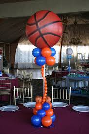Sports Themed Balloon Decor Sports Themed Balloon Centerpieces We Can Create This For Your