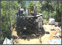 photos from help kids to be the architects of their own future tire retaining wall photos