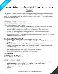 Executive Assistant Career Objective Objective Resume Administrative Assistant Mmventures Co
