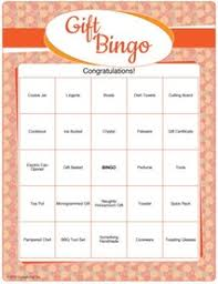 Wedding Bingo Words Printable Bridal Shower Gift Bingo Bridal Shower Games Com