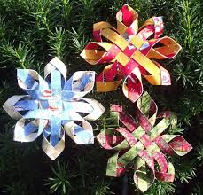 paper snowflakes 3d craft maniacs 3d paper snowflake ornaments