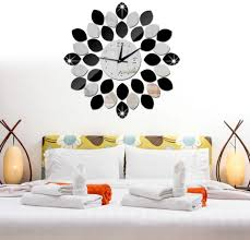 mirror wall clock 3d decorative wall clocks diy wall watches home decor ee souq uae