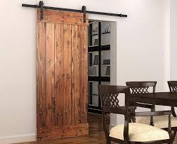diyhd 5ft 8ft soft close sliding barn door hardware rustic black