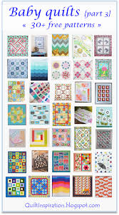 Free Baby Quilt Patterns Extraordinary Quilt Inspiration Free Pattern Day Baby Quilts Part 48