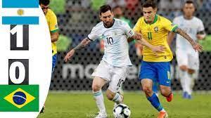 ملخص مباراة الارجنتين والبرازيل 1 0 كوبا امريكا 2021 - YouTube