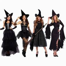 <b>Halloween</b> Sexy <b>Witch Costumes</b> Adult Women Queen Carnival ...