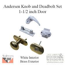 andersen emco and deadbolt set 1 1 2 inch door