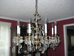 crystal and brass chandelier large vintage brass and crystal chandelier traditional dining intended for modern household crystal and brass chandelier