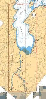 Lake Simcoe Depth Chart Cooks Bay And Et Holland River Marine Chart Ca2028c_1