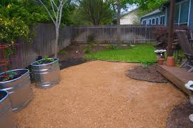 Small Picture Backyard Patios Heres A Pea Gravel Backyard Patio How To