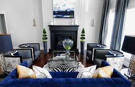 Modern blue couch Dark Blue Modern Blue Gray Yellow Eclectic Living Room Design With Gray Blue Scheme Of Royal Blue Couch Living Room Modern Blue Gray Yellow Eclectic Living Room Design With Gray Blue