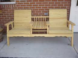 handmade picnic tables