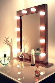 wall mounted lighted makeup mirror wall mounted vanity mirror with lighted mirrors extendable battery operated wall