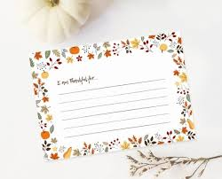Printable Thanksgiving Cards I Am Thankful For Card Thankful Card Printable Thanksgiving Card Thanksgiving Dinner Printables Printable Thankful Cards
