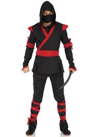 Ninja Suit Size Chart Mens Ninja In 2019 Ninja Halloween Costume Assassin