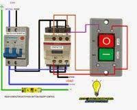 three phase motor connection star delta without timer control Relay Contactor Wiring Diagram relay contactor with push button on off control relay contactor wiring diagram