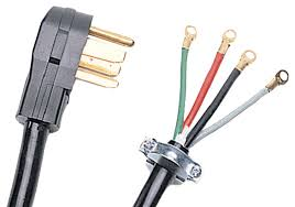 safely use extension cords when charging an electric car or petra 90 2028 10 foot 4 wire dryer cord 40 amp 4 wire range power cord this 4 foot cord is rated 40 amps 125 250 volts two 8 gauge wires and two