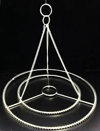 2pcs 10 w stainless steel chandelier frame wedding party centerpiece diy 2554652 weddbook