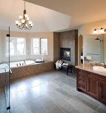 bathroom fireplace ideas 36 1 kindesign