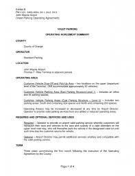 ... Valet Parking Resume Sample 1 85 Exciting Free Examples Of Resumes ...