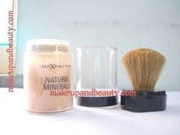 maxfactor natural minerals foundation