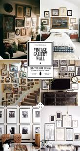 Wall Design Photos Gallery Design Tips On How To Create A Vintage Gallery Wall Home