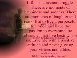 Quotes About Life Struggles