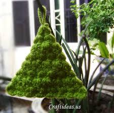 Christmas Crafts Ideas Crocheted Tree Craft ~ idolza