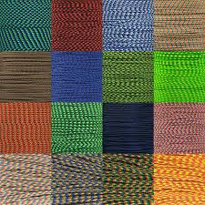 Paracord Planet Color Chart 275 Paracord Multi Colors