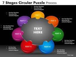 Teamwork Presentations Powerpoint Template Teamwork Circular Puzzle Process