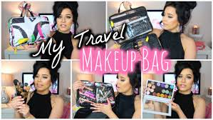 adorable whats in my travel makeup bag you best bags for maxresdefault full size