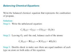writing balanced equations solutions for the balancing practice worksheet 1 2 or unbalanced chemical combustion worksheets