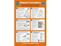 Food Hygiene Poster Craig International Shipboard Food Hygiene Poster Rigid Poster