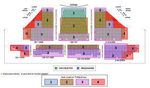 Rocky The Musical Seating Chart The Inside Scoop Tickpick