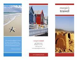 Office Com Templates Travel Brochure Templates Tri Fold Travel Brochure Red Gold Blue