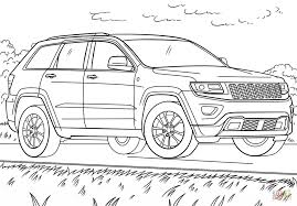 Small Picture Jeep Grand Cherokee coloring page Free Printable Coloring Pages
