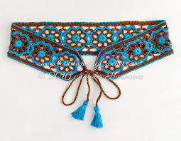 Crochet Belt Pattern Simple Inspiration Design