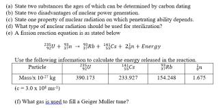 Physics Essay Paper 2 Jan Feb 2018