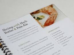 nice clean cookbook layout recipe book designcookbook